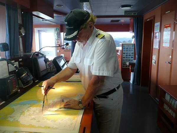 signal kapitän an bord
