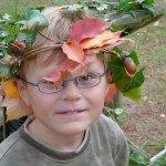 Blätter Leopold, der Blätterkönig