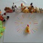 Sonnefehlt ein Kuss von Hähnchen kik
