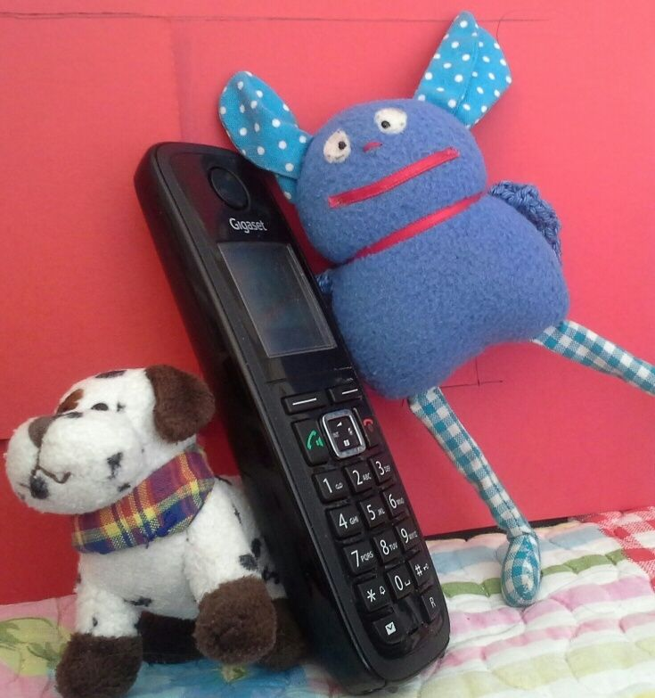 12.3.14 Kuschel am Telefon