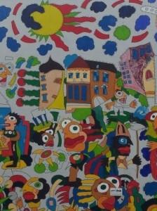23. Wandmalerei in MG