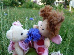 26.6.14 Lilli und Bienchen und Kornblume