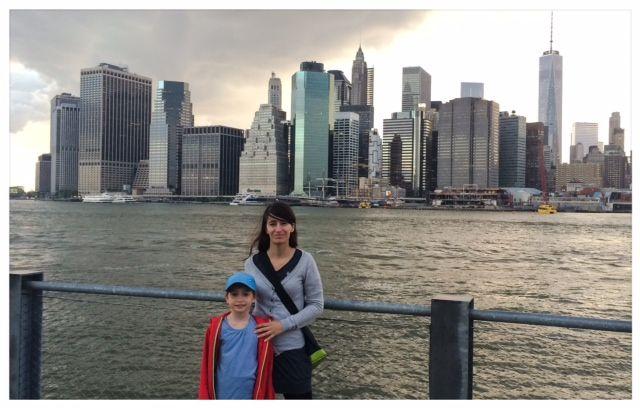 9.6.14 Mascha mit Mama in New York