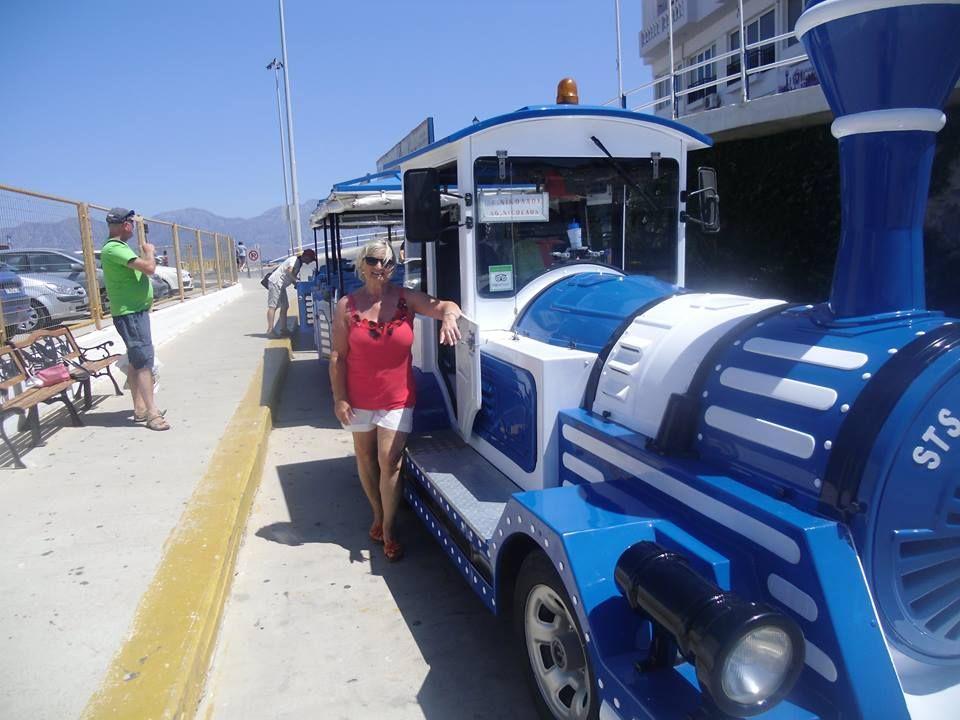 13-7-14 Sieglinde in Agios Nikolaos Stadtrundfahrt