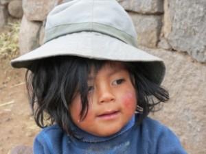 2048 Mädchen aus Peru v. Birgit Schmitz