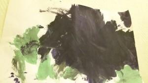 Igel gemalt von Luca
